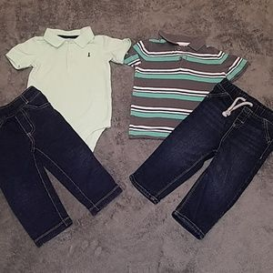🍒5/$15 🍒  18M Carters outfits